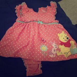 Disney Baby Winnie the Pooh size 12M infant dress